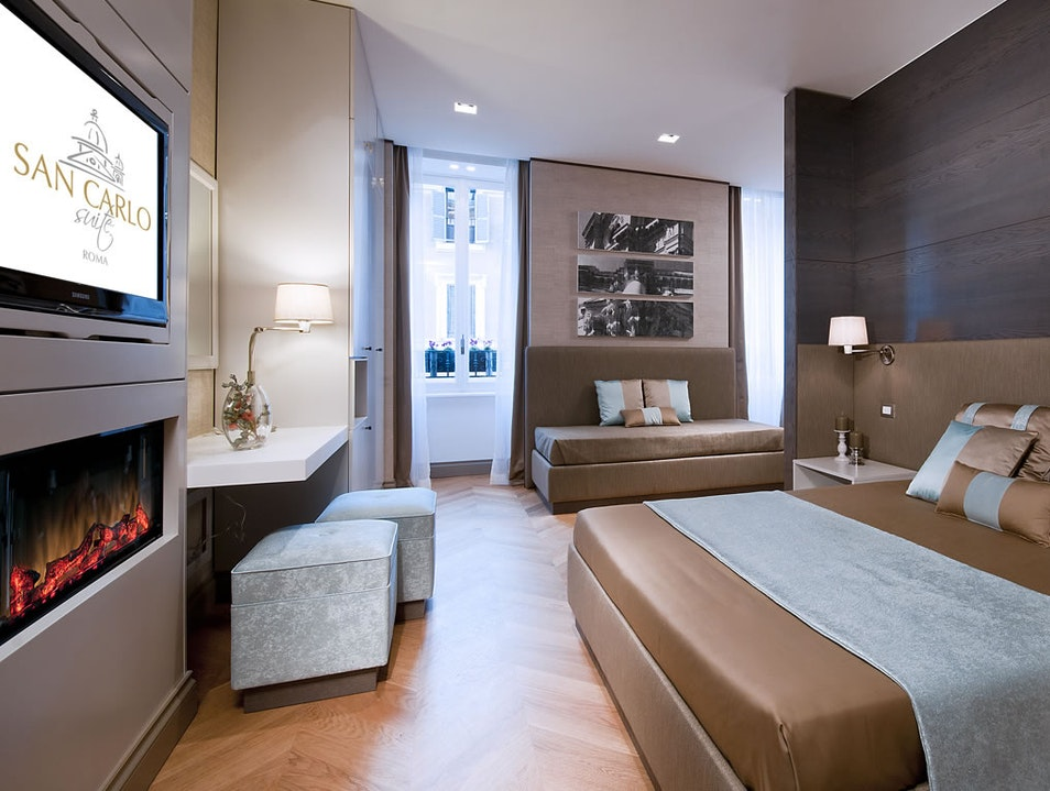 San Carlo Suite Rome  Italy