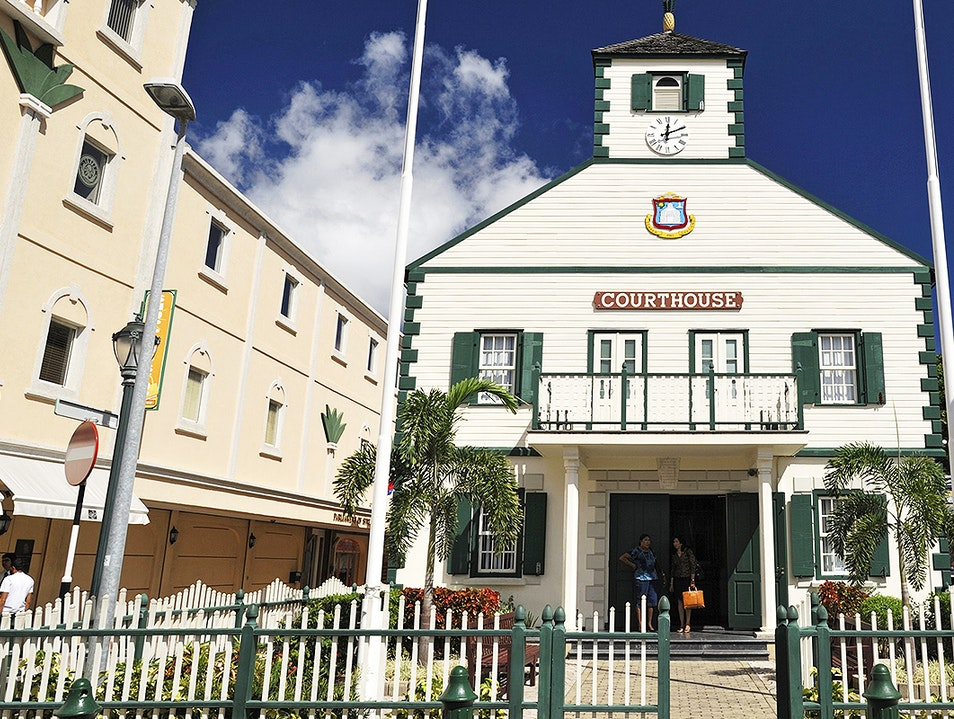 Philipsburg Courthouse Philipsburg  Sint Maarten