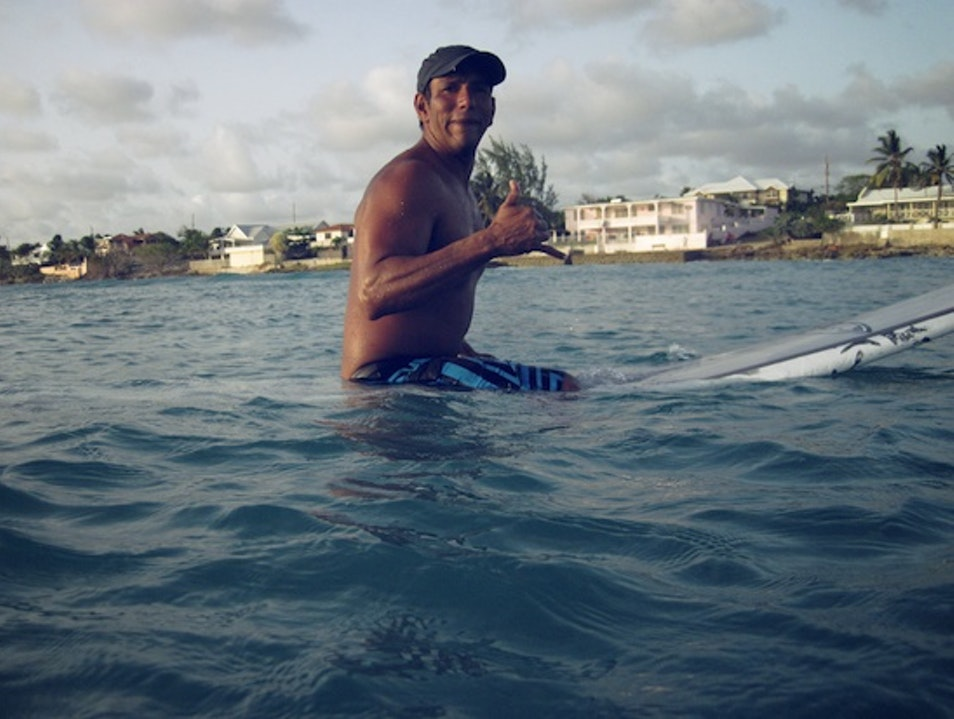 Learn to Surf Bajan Style with Boosy Oistins  Barbados