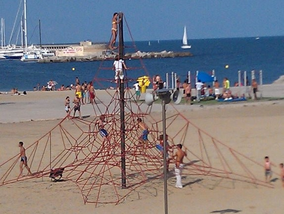 Catalan Culture, then Sun and Sand Barcelona  Spain