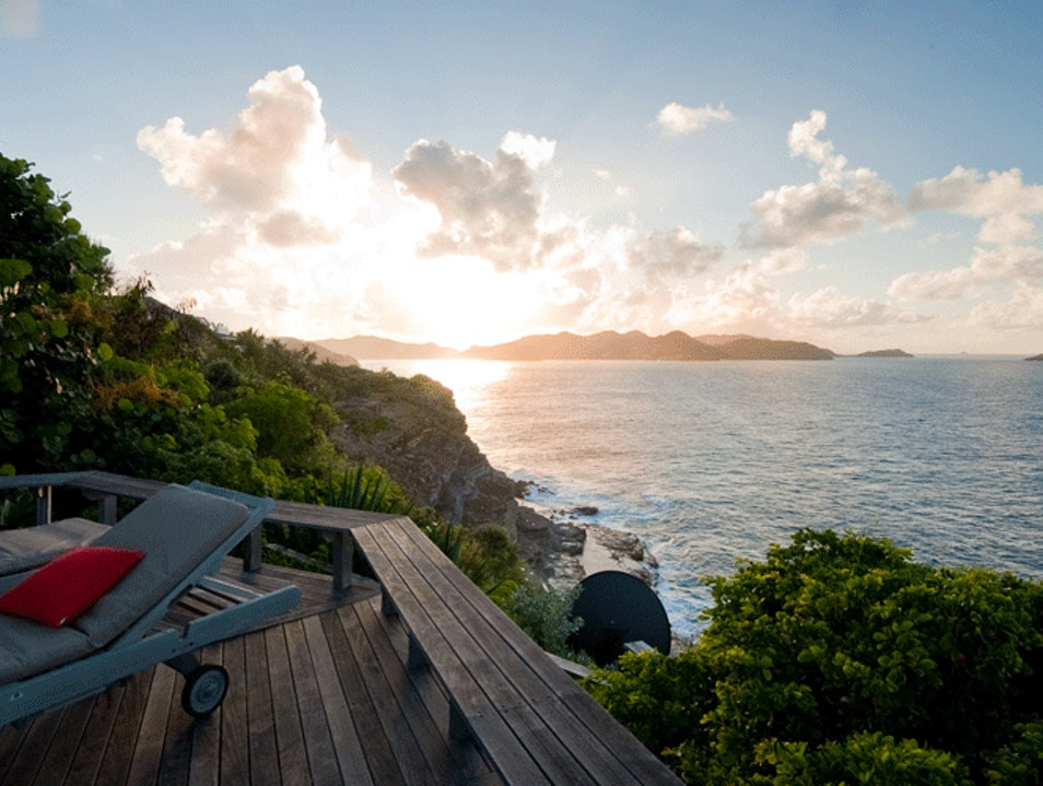 Romantic Sunsets and Breathtaking Views at Villa Domingue