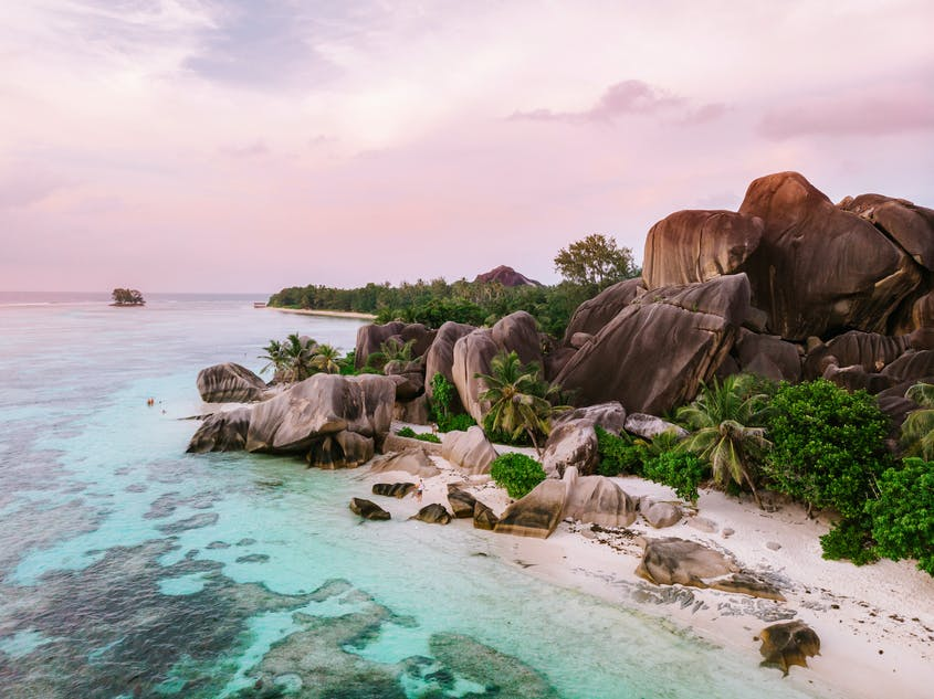The Indian Ocean island paradise of Seychelles is beckoning.