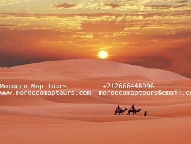 Morocco Map Tours