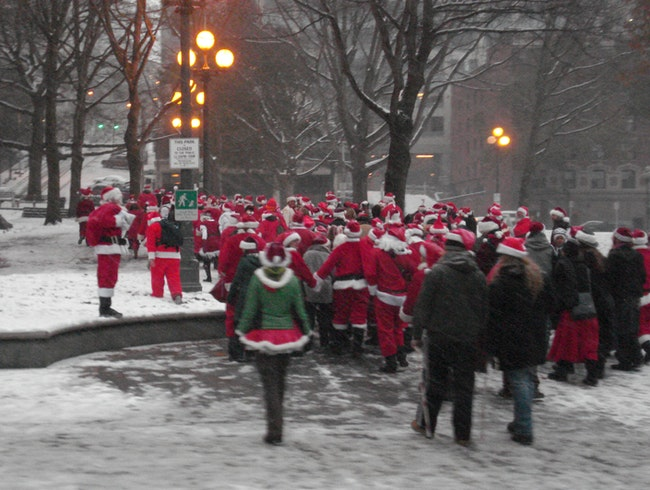 Elves Gone Wild at Seattle Santarchy