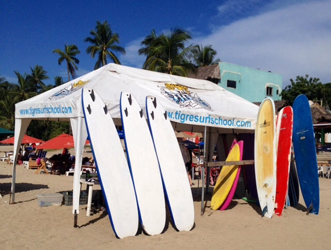 Learn to Surf in Sayulita