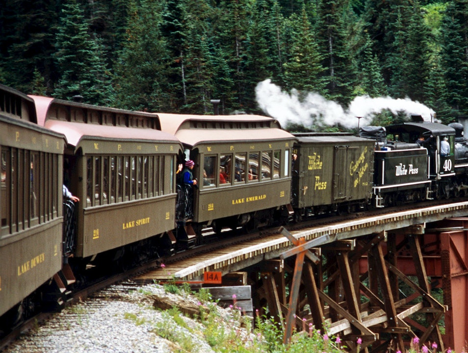 White Pass & Yukon Route Railroad Skagway Alaska United States