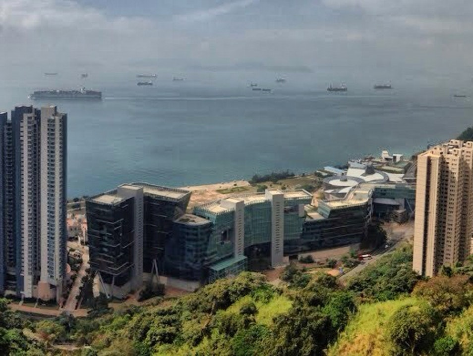 View From The T Hotel Pok Fu Lam  Hong Kong