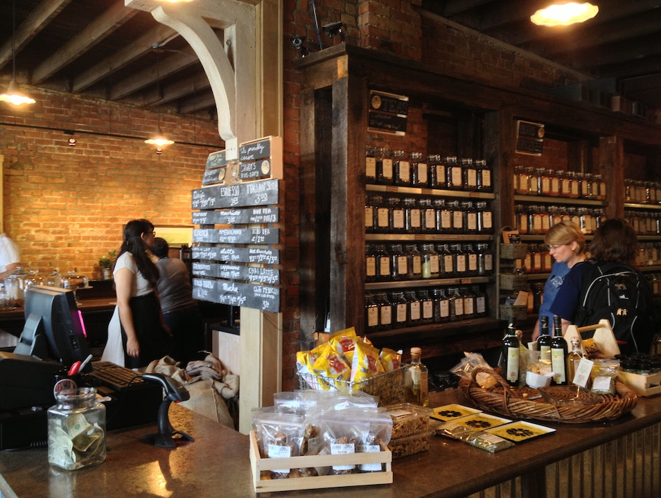 Coffee and Tea Drinkers' Mecca in Eastern Market