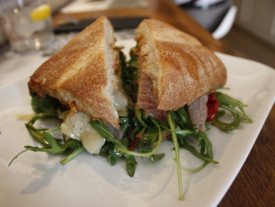 Catalan Sandwiches and Slow Food
