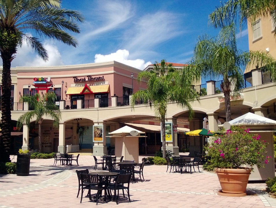 Food and Entertainment at Channelside