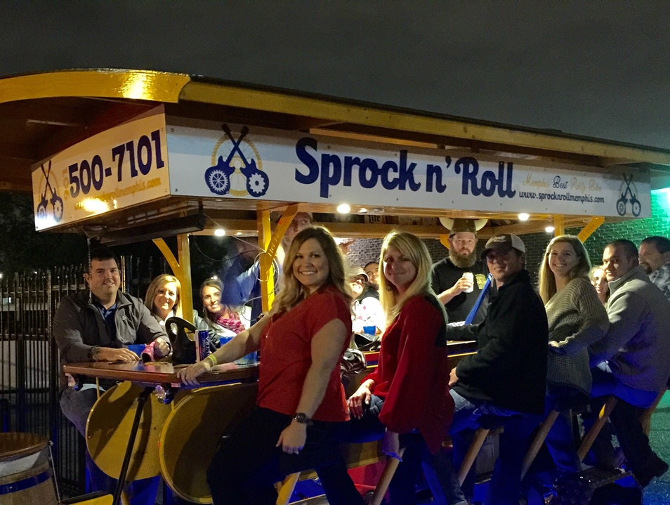 Good times on Sprock n' Roll - Memphis' Best Party Bike! Memphis Tennessee United States