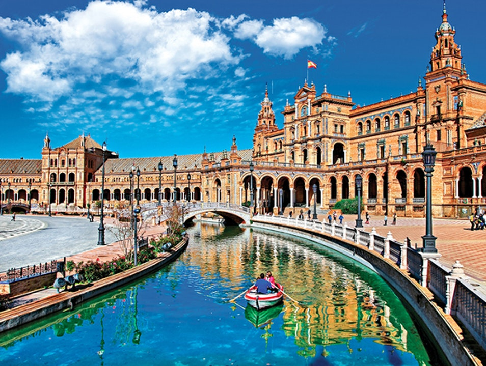 A favorite for romance-seekers  Seville  Spain