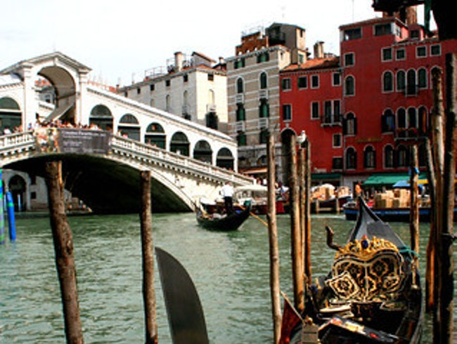 Along Venice's Grand Canal