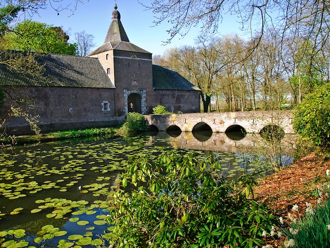 Grand Castle Gardens in the Netherlands