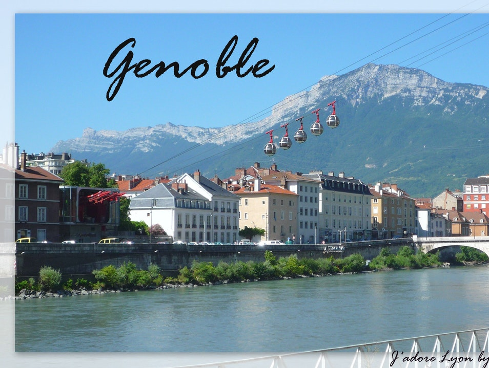 Grenoble - such a big city next to Lyon Grenoble  France
