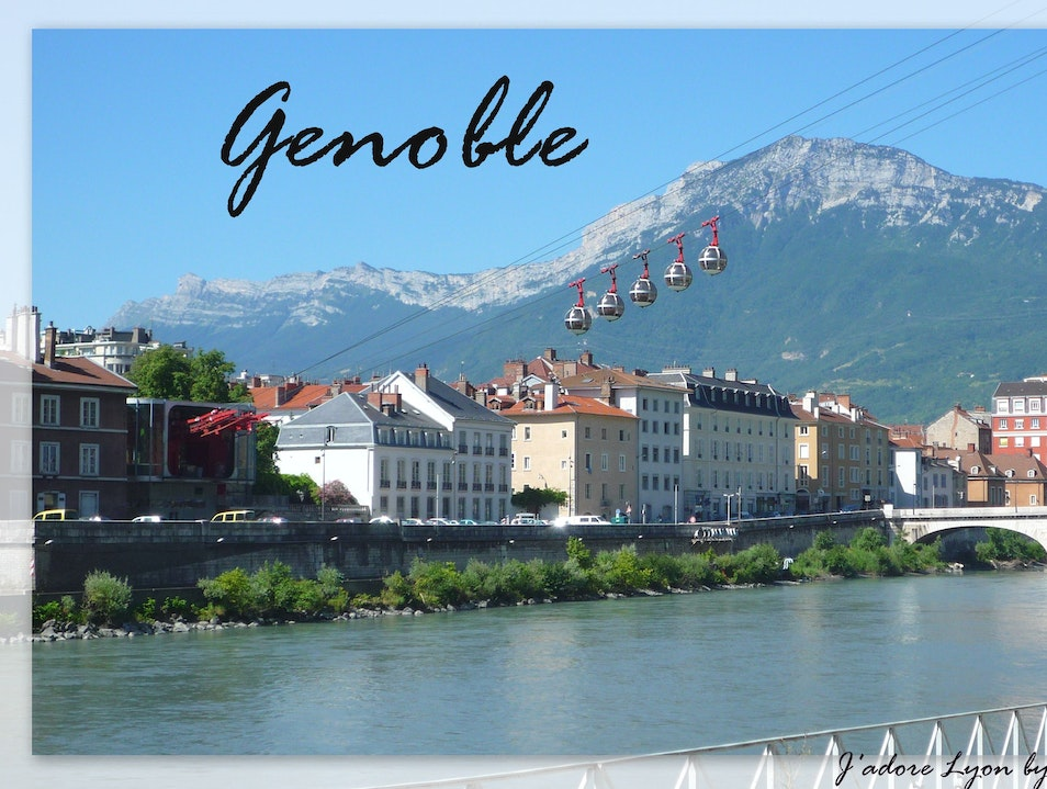 Grenoble - such a big city next to Lyon