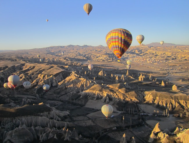 Morning Balloon Ride Over Cappadocia, Turkey