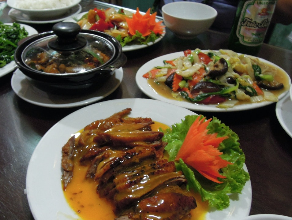 Solid Vietnamese Fare Popular With Locals and Tourists Alike Hanoi  Vietnam