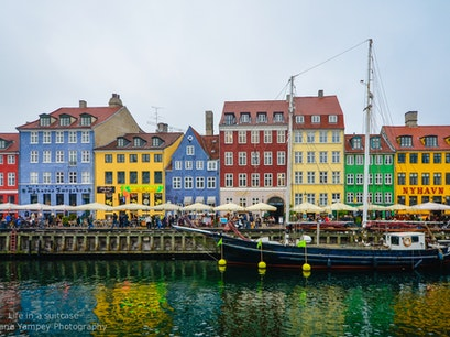 Nyhavn Copenhagen  Denmark