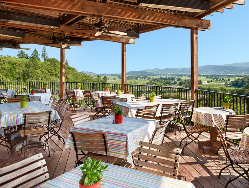 An International Breakfast at Auberge du Soleil Rutherford California United States