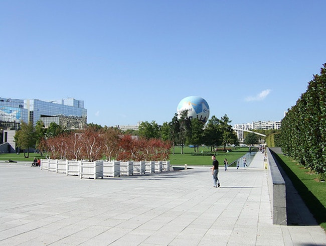 West of the Eiffel: the André Citroën Park