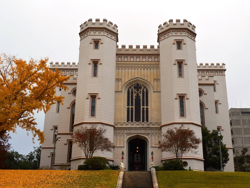 History and Beauty in Baton Rouge Baton Rouge Louisiana United States
