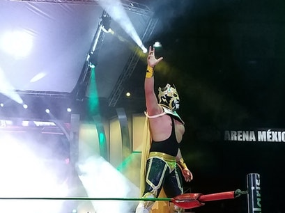 Lucha Libre at Arena México Mexico City  Mexico