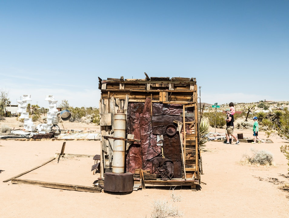 Noah Purifoy Outdoor Desert Art Museum Joshua Tree California United States