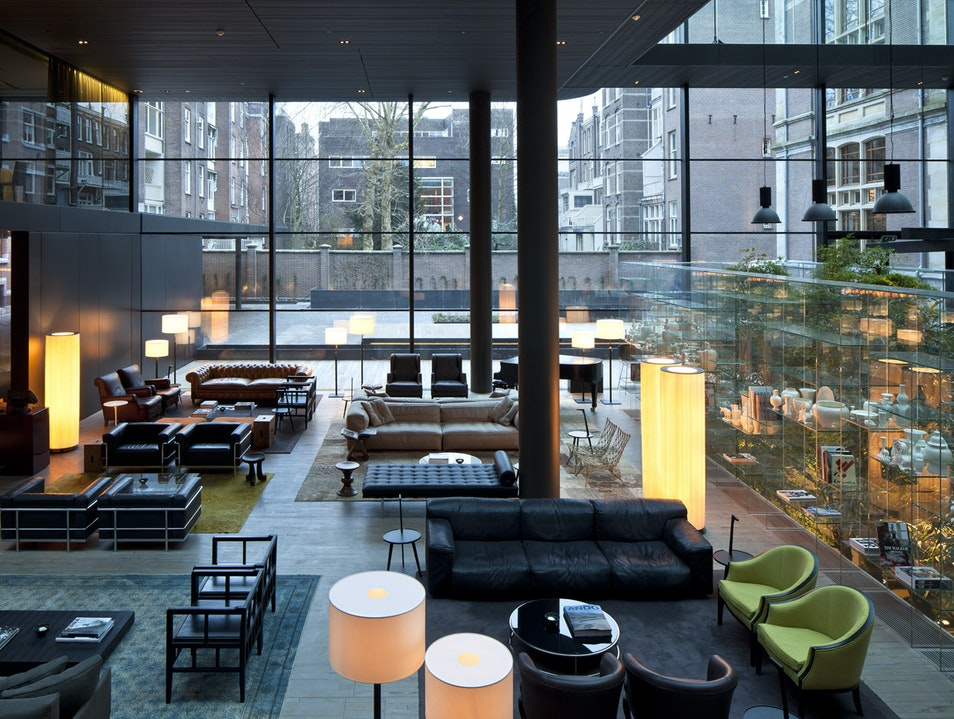 Boutique, high-end, and a stunning lobby Amsterdam  The Netherlands