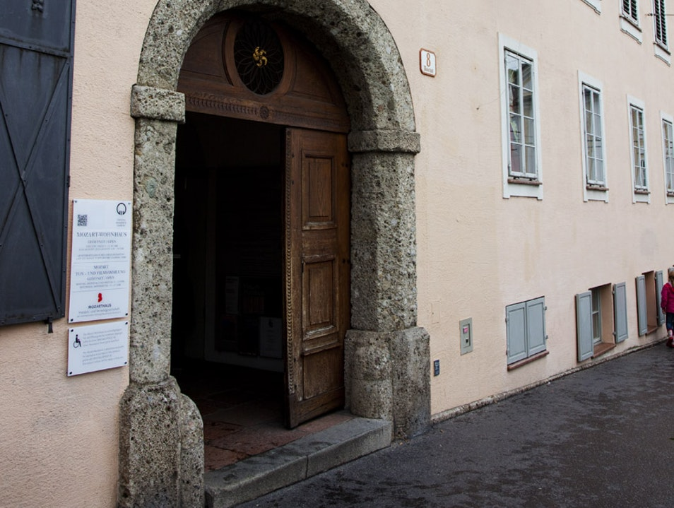 Explore the Mozart Family Home  Salzburg  Austria