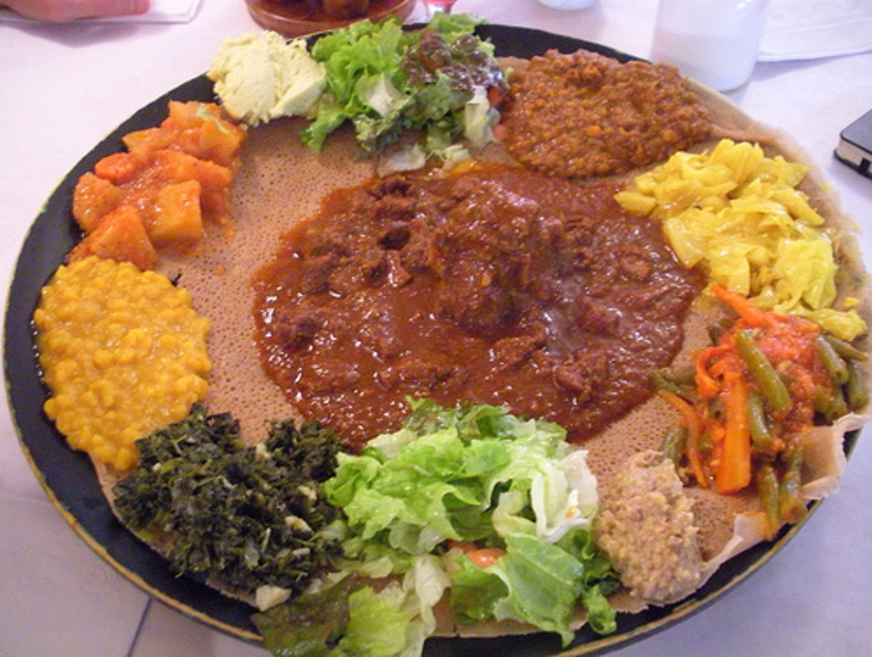 Authentic Ethiopian Fare in San Diego San Diego California United States
