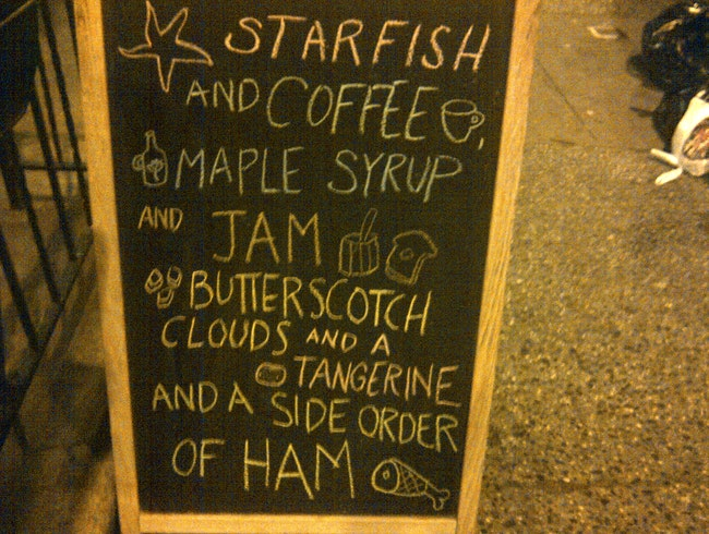 Starfish and Coffee...