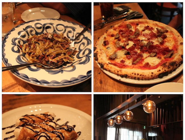 Brick-Oven Pizza, Pasta, and More