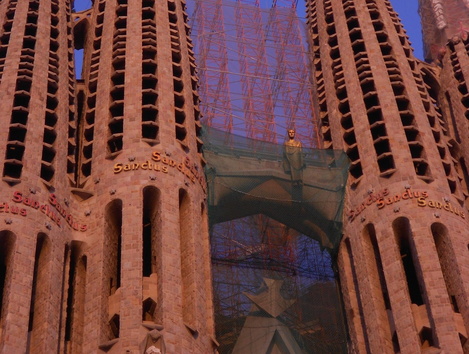 Genius in progress : Gaudi's Sagrada Familia Barcelona  Spain