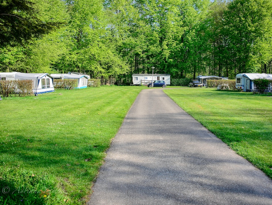 Het Bosbad camping site in Flevoland  Emmeloord  The Netherlands