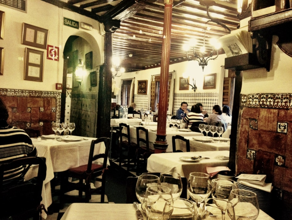 Restaurante bot n madrid spain afar for Casa botin madrid