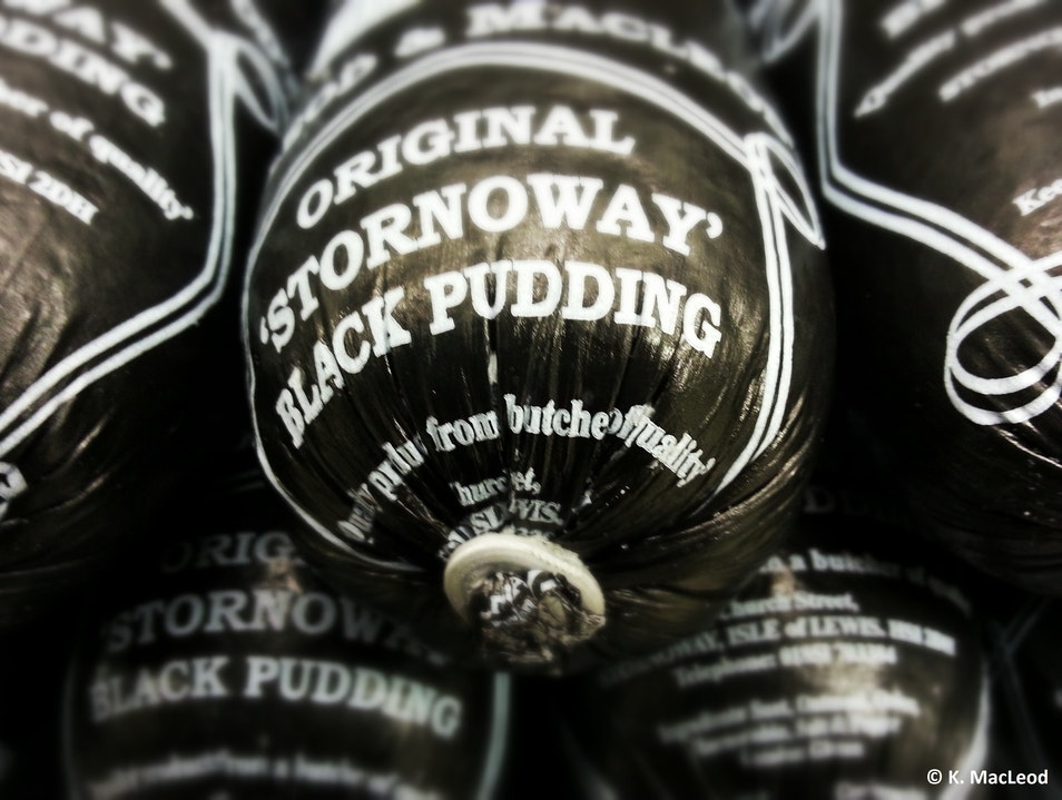 Black Pudding: A Stornoway Speciality
