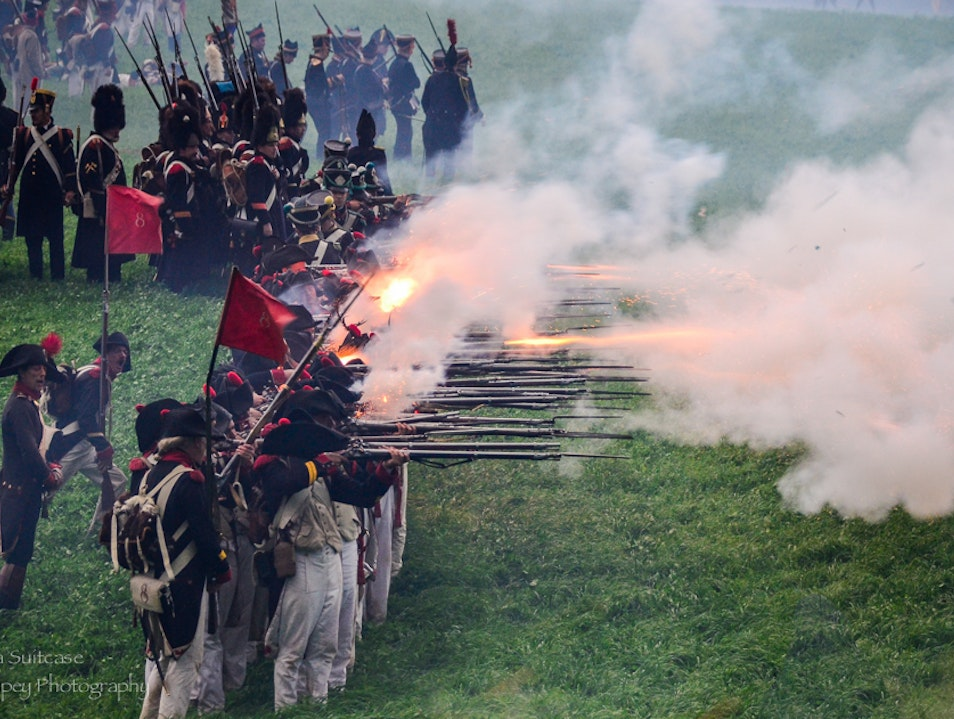 Bicentennial of the Battle of Waterloo Braine L'alleud  Belgium