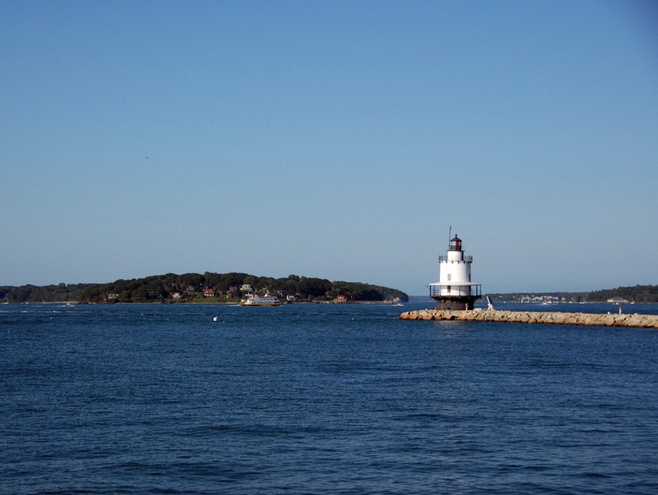 The Perfect Lighthouse Driving Tour Cape Elizabeth Maine United States