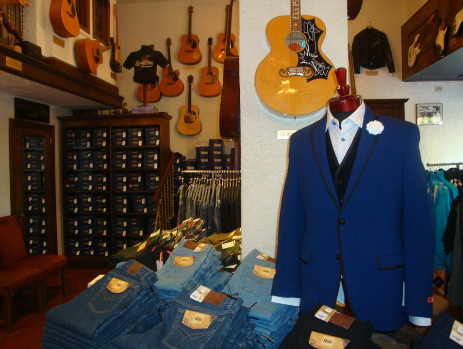 Clothes Fit for a Music King Memphis Tennessee United States