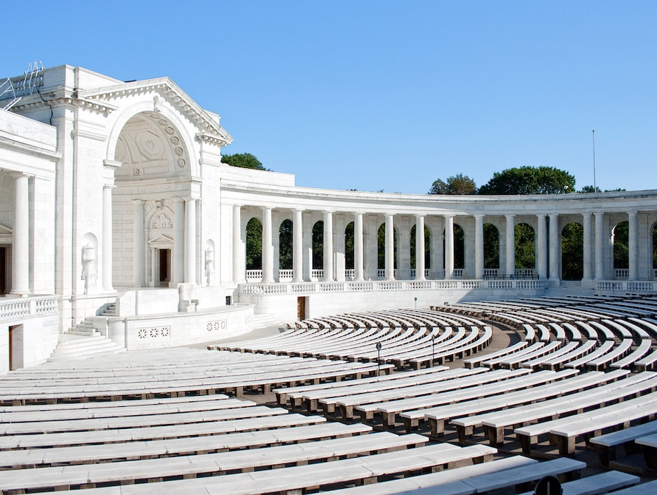 The Memorial Amphitheater in Arlington Arlington Virginia United States