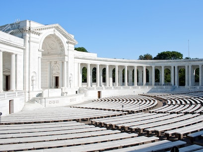 Memorial Amphitheater Arlington Virginia United States