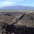 Rio Grande Gorge Bridge El Prado New Mexico United States