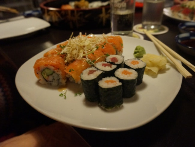 In Need Of Sushi.