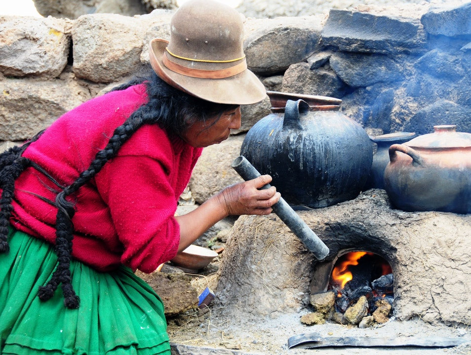 Cooking Lesson Lampa  Peru