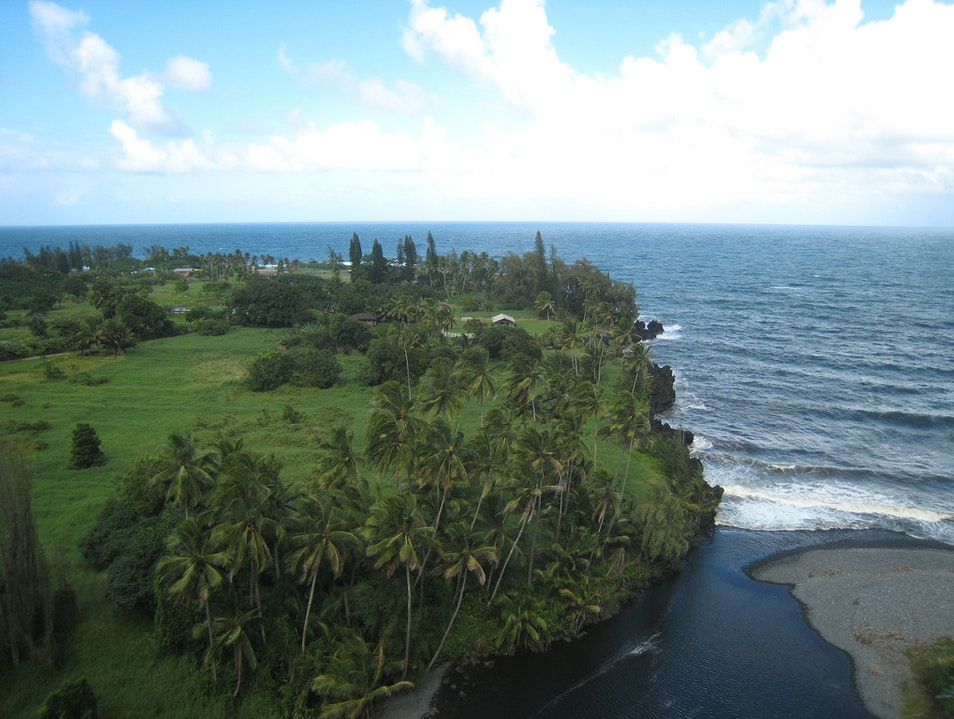 Lava Rock Peninsula HAIKU Hawaii United States