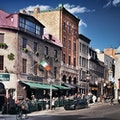 Rue Saint-Jean Quebec City  Canada