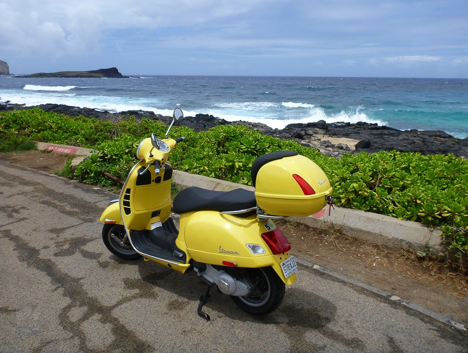Scootering and Motorcycling on Oahu