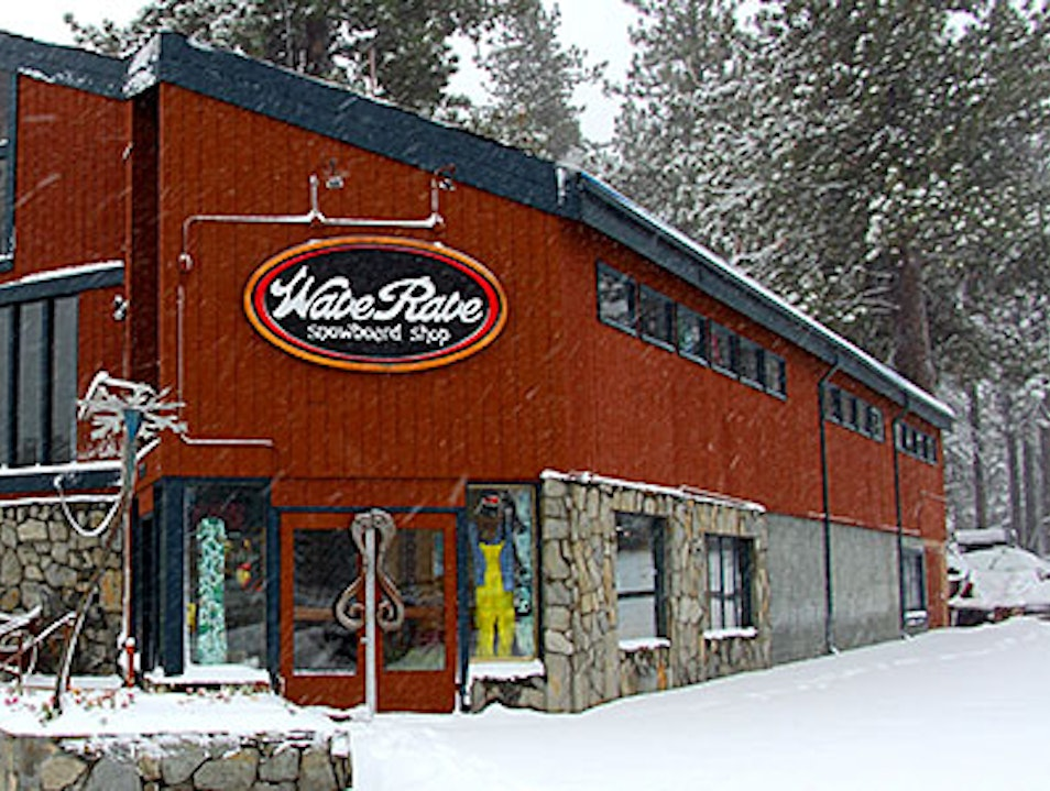 One-Stop Snowboard Shop Mammoth Lakes California United States