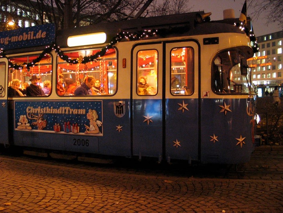 Take a Ride on Munich's Most Festive Train Munich  Germany